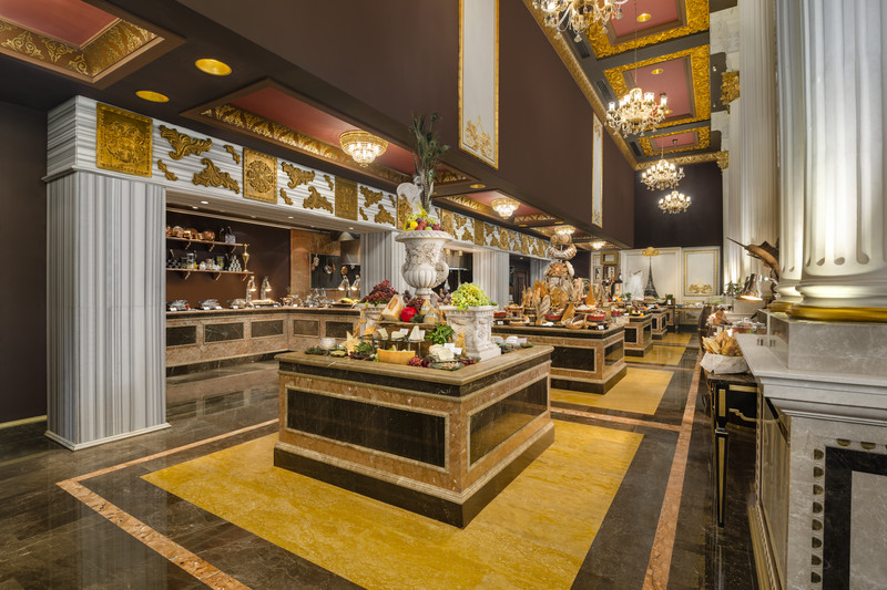 Jumeirah Zabeel Saray Imperium brunch - Dubai restaurants