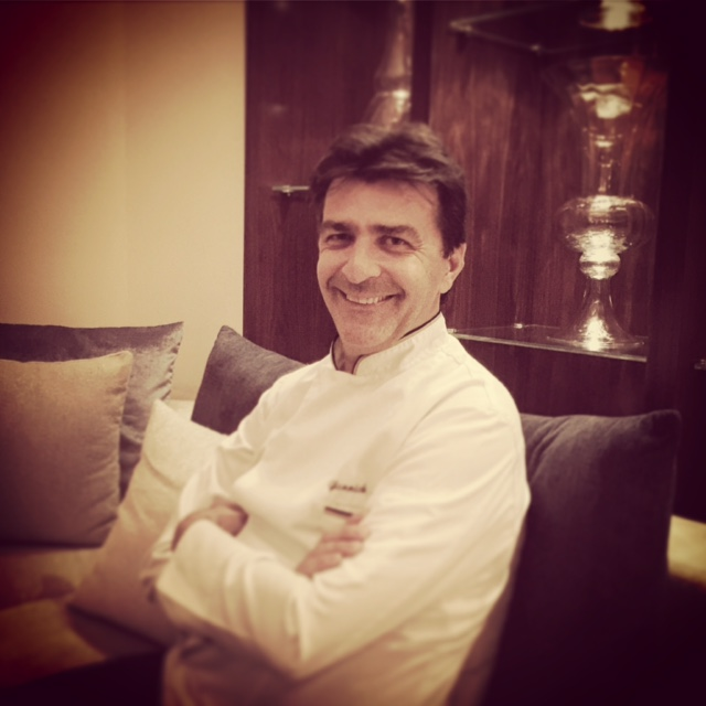 Chef Yannick Alleno - Dubai restaurants