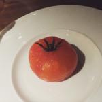 Tomato and burrata - Marina Social - Dubai restaurants