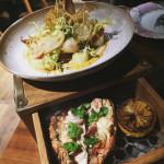 Smoked Boston lobster - Marina Social - Dubai restaurants