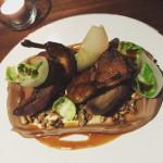 Squab pigeon - Marina Social - Dubai restaurants