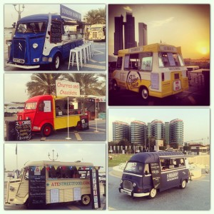 UK food trucks in the UAE