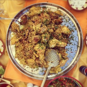 Maqlouba - Jordanian dishes
