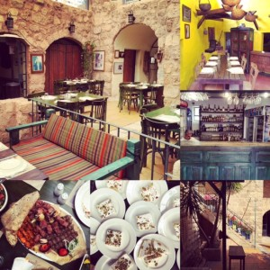 Mezze at Haret Jdoudna - Jordanian restaurants