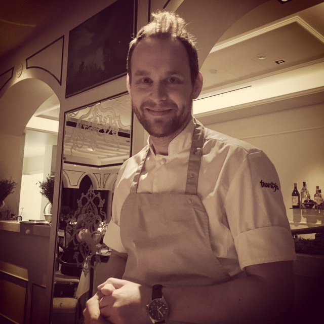 Chef Bjorn Frantzen at Enigma Dubai - Dubai restaurants - FooDiva