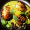 Diver scallops - Shimmers On The Beach - Madinat Jumeirah - Dubai restaurants - Foodiva