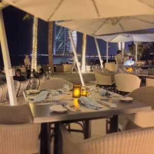 Shimmers On The Beach - Madinat Jumeirah - Dubai restaurants - Foodiva