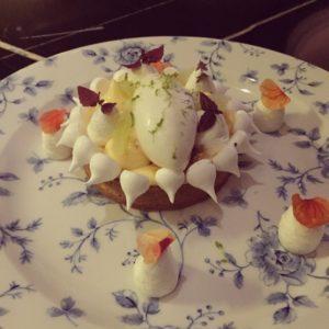 Hazelnut crust dessert - Weslodge Saloon - Dubai restaurants - Foodiva