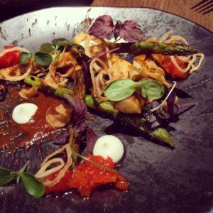 Mayta Dubai - asparagus anticucho - Dubai restaurants - Foodiva