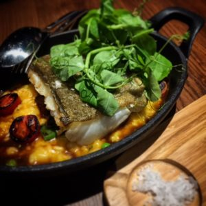 Mayta Dubai - roasted cod risotto - Dubai restaurants - Foodiva