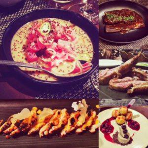 Bu Trinity Abu Dhabi food