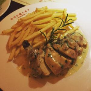 Poulet frites - Couqley - Dubai restaurants - Foodiva