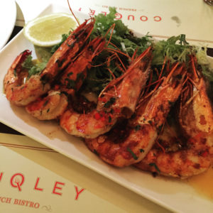 Shrimp platter - Couqley - Dubai restaurants - Foodiva