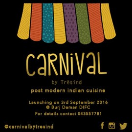 Carnival Pure Modern Indian Cuisine