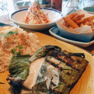 Mediterranean sea bass rundown - Ting Irie - Dubai restaurants - Foodiva