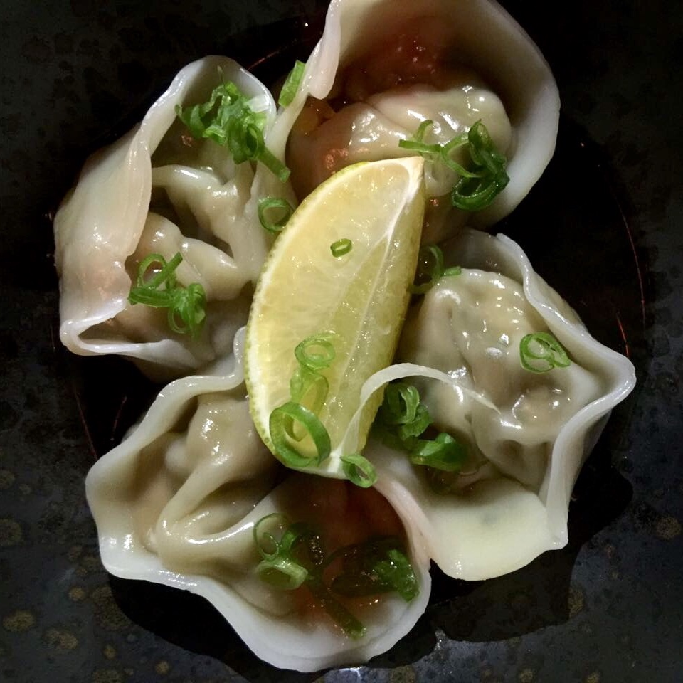 Ramusake - prawn and shiitake gyoza - Dubai restaurants - Foodiva