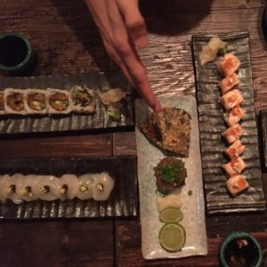 Ramusake - maki rolls - Dubai restaurants - Foodiva