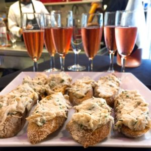 Skate rillette at Les Halles de Lyon Paul Bocuse - Lyon restaurants - FooDiva