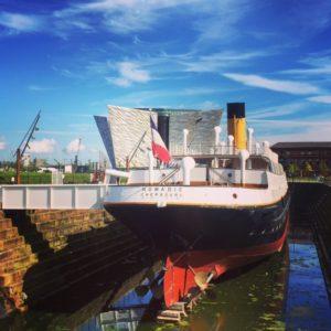Titanic museum - Titanic Belfast - FooDiva