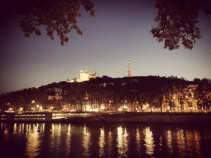 Lyon by night - Lyon rivers - France - FooDiva