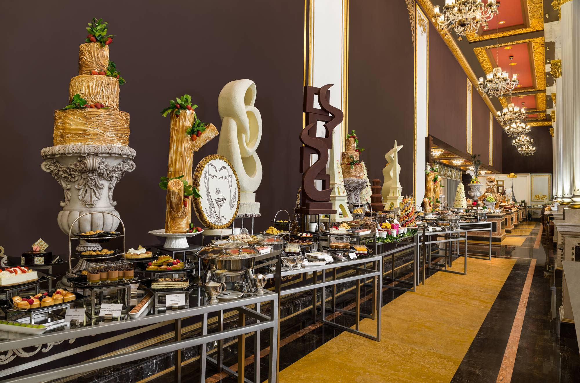 JumeirahZabeel Saray - Imperium Brunch - Dessert Station - Dubai brunches - FooDiva