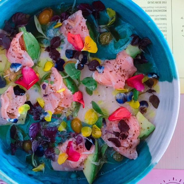 Muchachas - salmon ceviche - Dubai restaurants - FooDiva