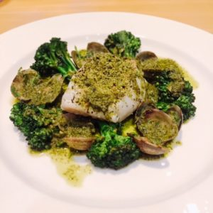 Nathan Outlaw at Al Mahara - baked cod - Dubai restaurants - Foodiva