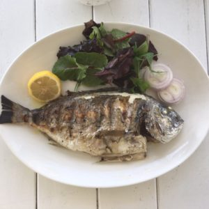 Sea bream at Fish - Fish restaurant Dubai - Dubai restaurants - Foodiva