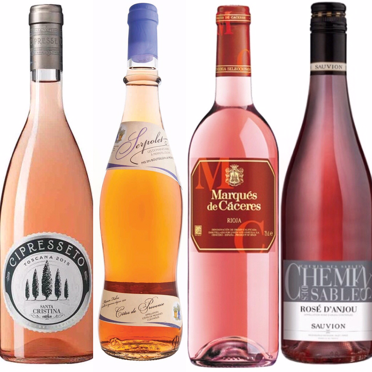 Top 4 rose wines under AED100 - #FooDivaVino - Wines in UAE
