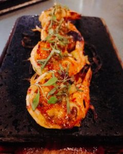 Prawn teppan - Aji The Palm Dubai - Dubai restaurants - Foodiva