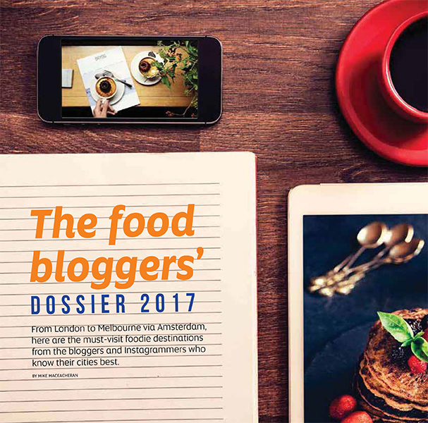 The food bloggers' dossier 2017