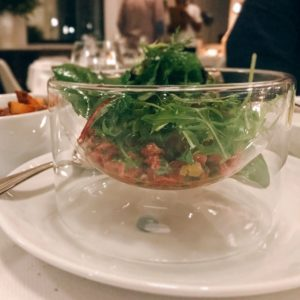 Steak tartare - Chez Charles Restaurant - Dubai restaurants - Foodiva