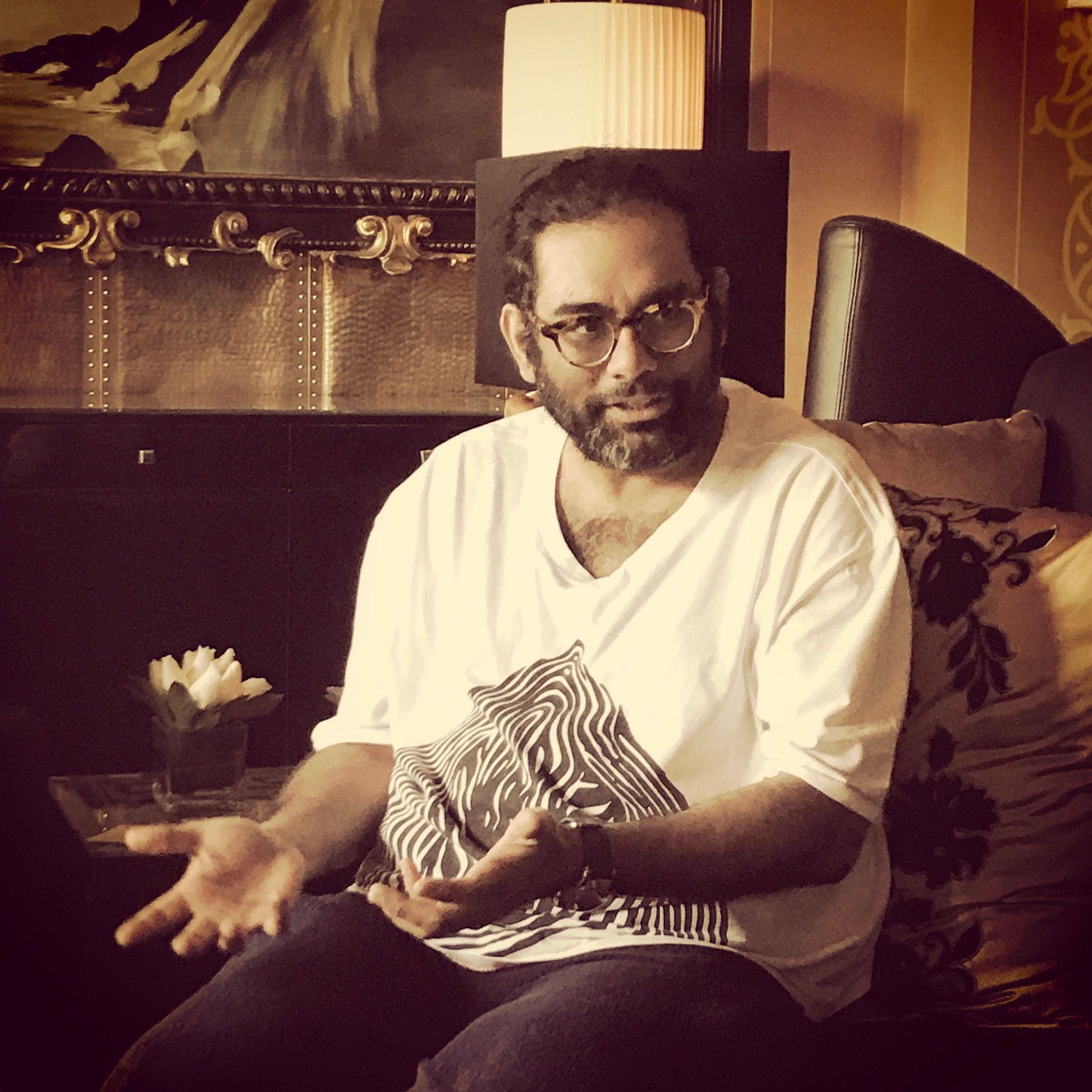 Chef Gaggan Anand in Dubai - Dubai restaurants - Foodiva