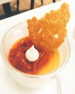 Lime yoghurt - Chez Charles Restaurant - Dubai restaurants - Foodiva