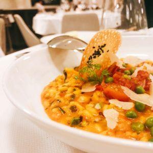 Paella saffron risotto - Chez Charles Restaurant - Dubai restaurants - Foodiva