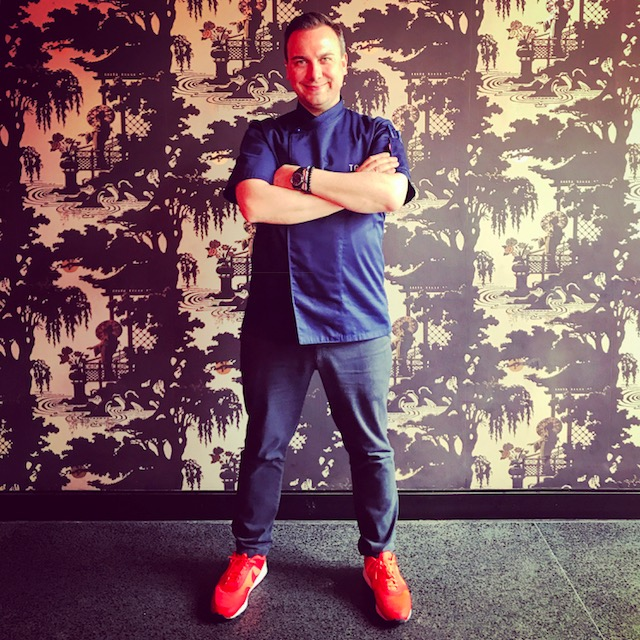 Chef Tim Raue at Dragonfly - Dubai restaurants - Foodiva