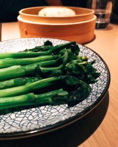 Kai lan and egg fried rice - Maiden Shanghai - Dubai restaurants - Foodiva