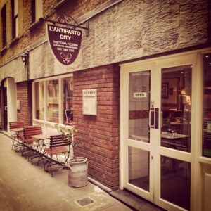 L'Antipasto City - London restaurants