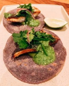Peyote Dubai - sea bass tacos - Dubai restaurants - Foodiva