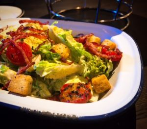 Brussels Sprouts caesar salad - Le Petit Belge - Dubai restaurants - Foodiva