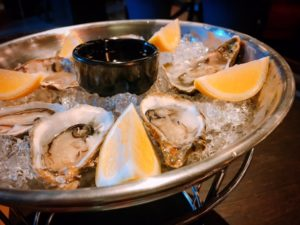 Rock oysters - Le Petit Belge - Dubai restaurants - Foodiva