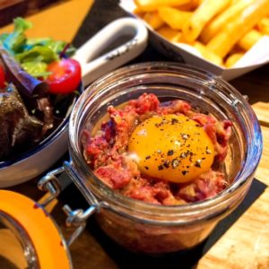 Steak tartare - Le Petit Belge - Dubai restaurants - Foodiva