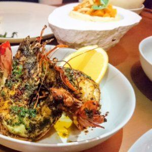 Chermoula Gulf prawns - Zahira - Dubai restaurants - FooDiva