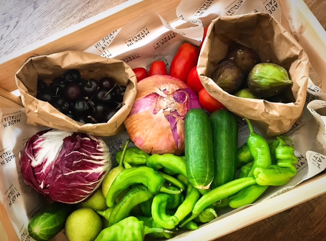 Made in Italia fruit and vegetable box - Online grocery shopping Dubai - FooDiva
