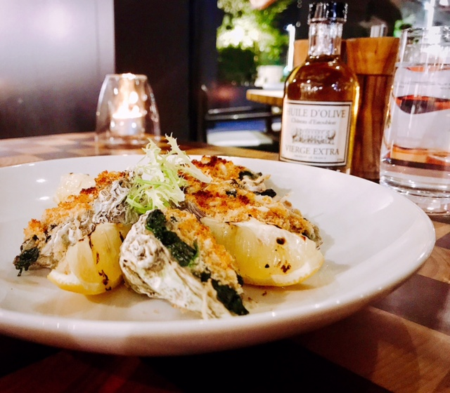 Baked oysters - Graze - La Ville Hotel City Walk - Dubai restaurants - Foodiva