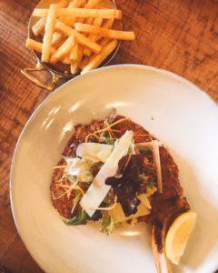 Izu Brasserie - veal Milanese - Dubai restaurants - Foodiva
