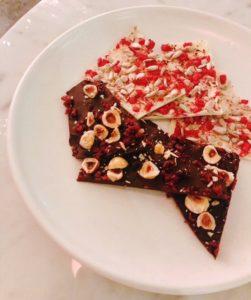 Sean Connolly at Dubai Opera - chocolate bark - Dubai restaurants - FooDiva