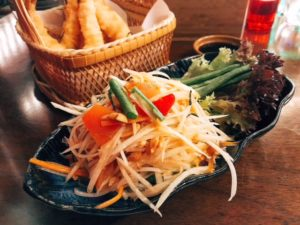 Som Tam Thai salad - Miss Tess Dubai - Dubai restaurants - FooDiva