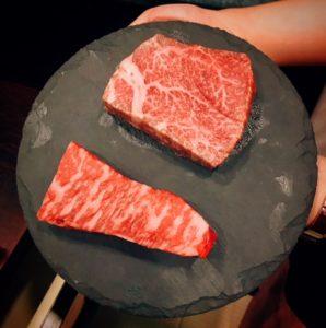 Kohantei - Japanese Wagyu (bottom) and Australian cuts - Dubai restaurants - FooDiva