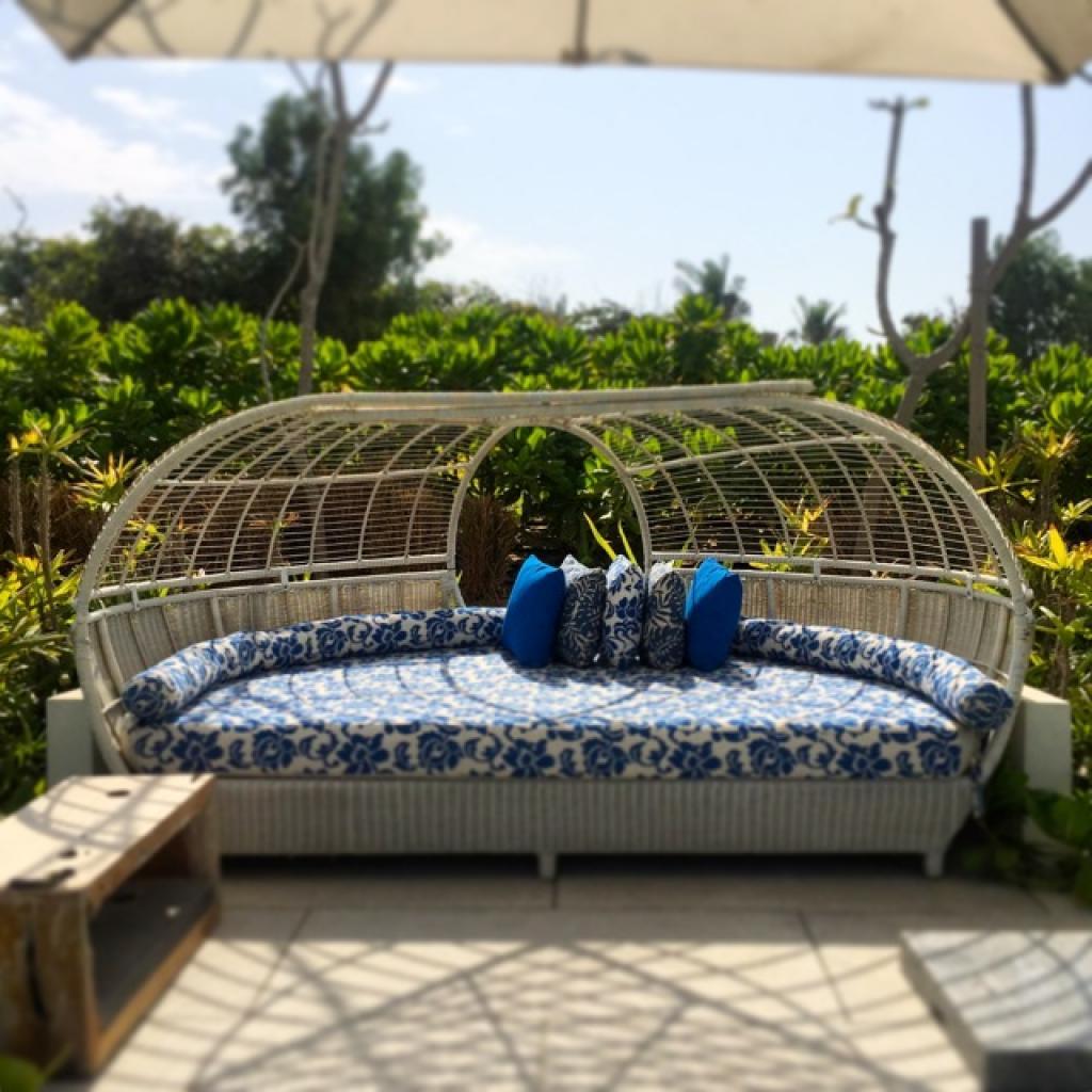 Nurai Island pool lounger
